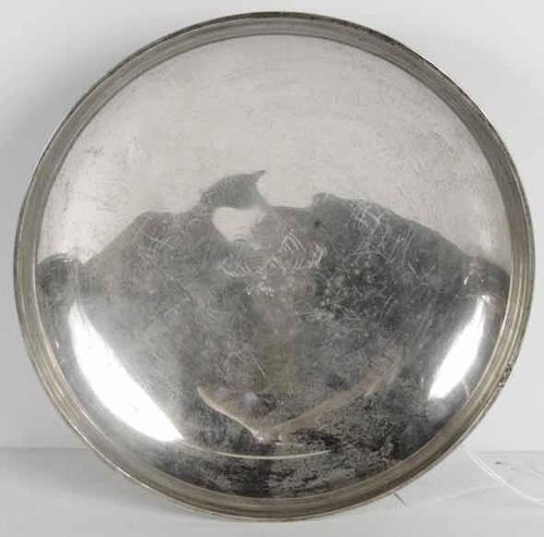 Sterling Footed Bowl