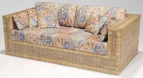 Modern Rattan Sofa