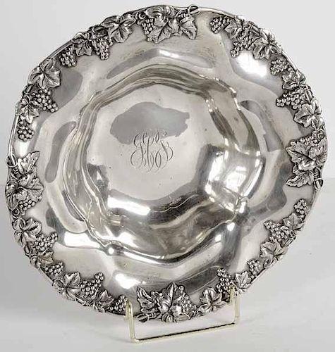 Round Sterling Bowl