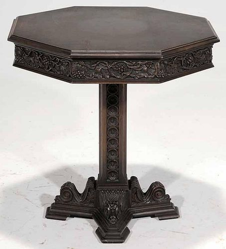 Victorian Style Grapevine-Carved