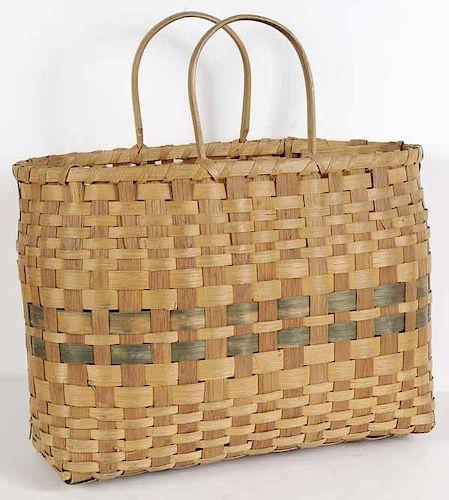 Split-Maple Purse Basket