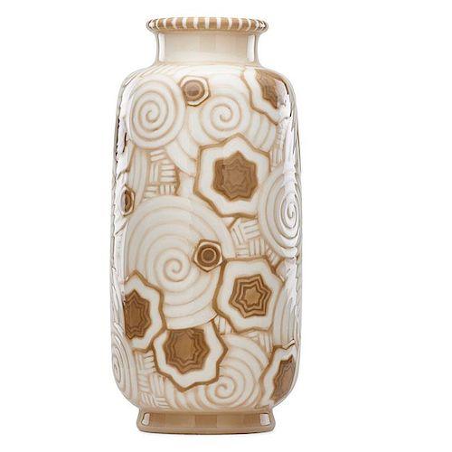 SEVRES Important Art Deco porcelain vase