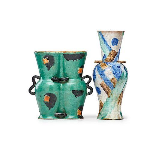 WIENER WERKSTATTE Two vases