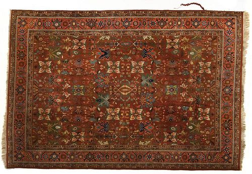 Indo-Persian Floral Room Size Rug