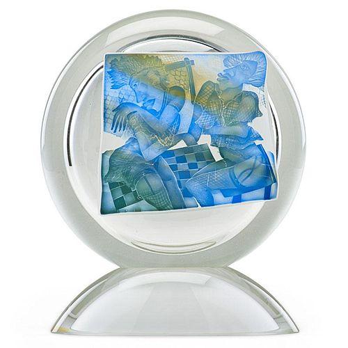 STANISLAW BOROWSKI Glass sculpture