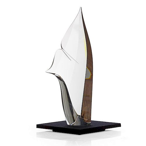 CHRISTOPHER RIES Large glass sculpture