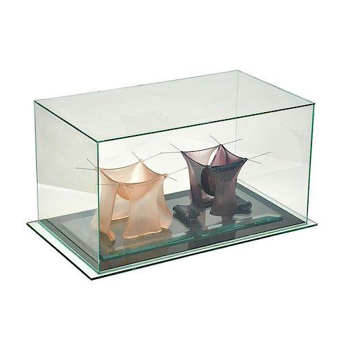 SYDNEY CASH Glass sculpture