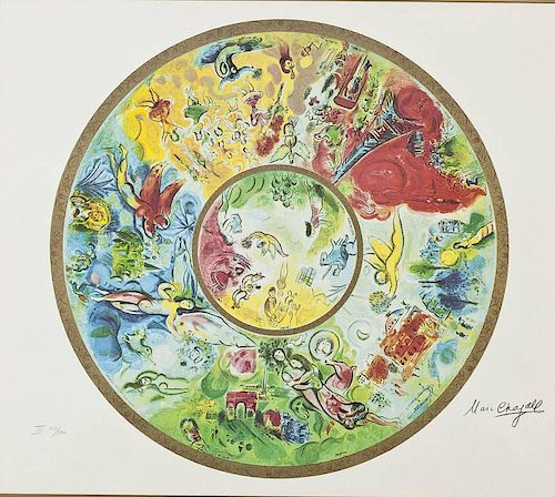 After Marc Chagall (Russian/French, 1887-1985)