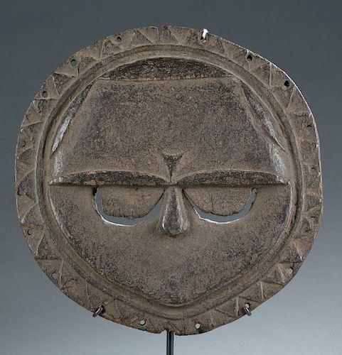 Nigerian round face mask