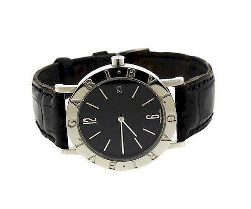 best service a5193 62801 Bvlgari Bulgari Stainless Steel Watch BB33SLD by Hampton ...