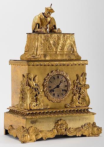 Mandarin Magician Automaton Clock
