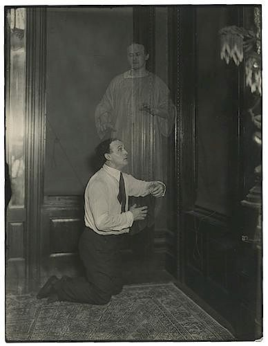 Spirit Photograph of Houdini