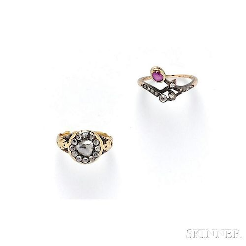 Two Antique Rings