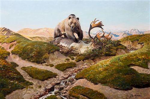 John Ford Clymer, (American, 1907-1989), The Wild Land, 1967