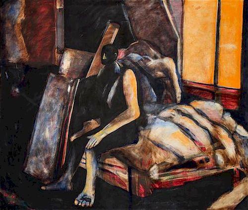 Fritz Scholder, (American, 1937-2005), The Room, 1996
