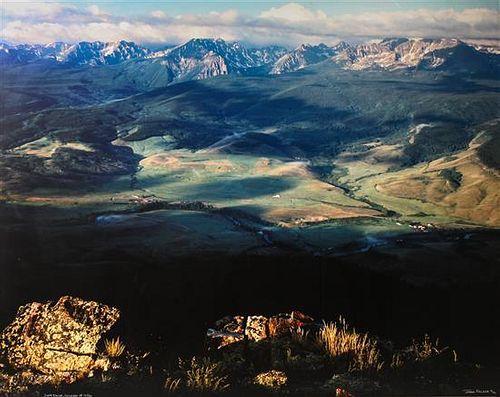 John Fielder, (American, b. 1950), Gore Range, Colorado, 1990