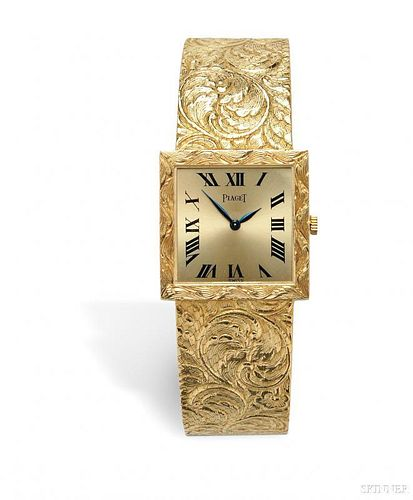 18kt Gold Wristwatch, Piaget