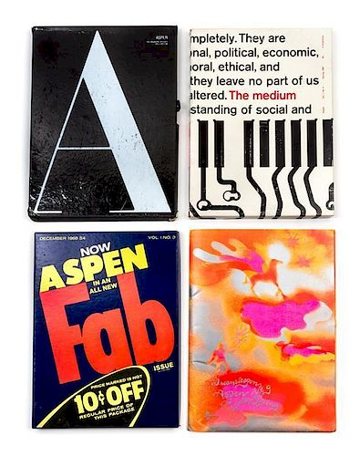 ASPEN MAGAZINE  Aspen Magazine  6 parts, comprising vol  1, nos  1-4