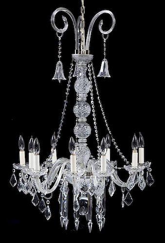 Crystal 10 Light Chandelier