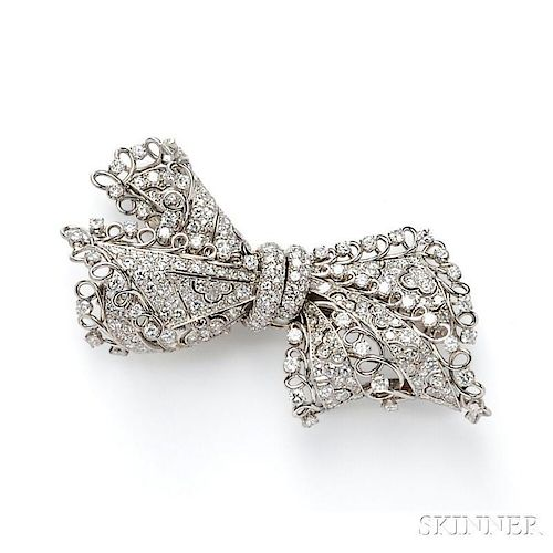 Platinum and Diamond Bow, Gubelin
