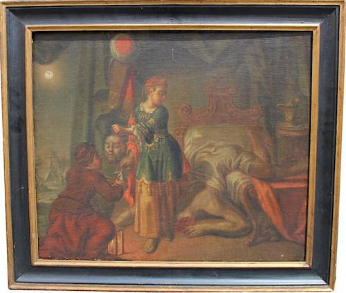 Old Master Painting, Judith Beheading Holofernes