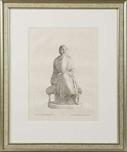 """Mellen, """"Statue of Agrippine Woman After a Bath,"""""""