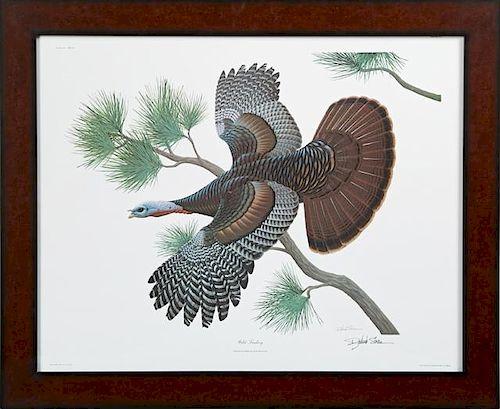 """Richard Sloan (1935-2007), """"Wild Turkey,"""" c. 1977,"""