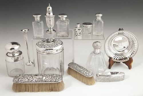 Group of Fourteen Items, 20th c., consisting of ei