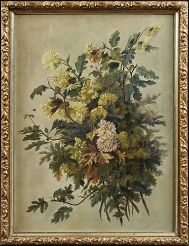 """Continental School, """"Still Life of a Floral Bouque"""
