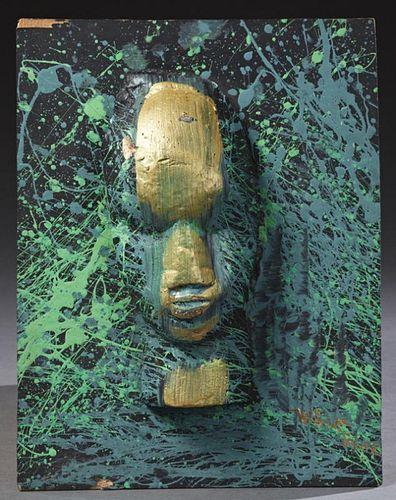 """William Tolliver (1951-2000, Louisiana), """"Untitled"""