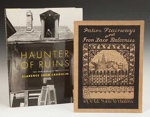 "Books- ""Haunter of Ruins,"" with dust cover and ""Pa"