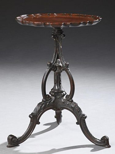Chippendale Style Carved Mahogany Low Table, early