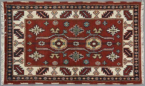 Kazak Carpet, 3' 1 x 4' 11.
