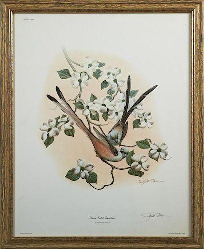 """Richard Sloan (1935-2007), """"Scissor-Tailed Flycatc"""