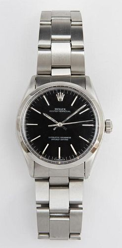 Man's Stainless Steel Oyster Perpetual Wristwatch,