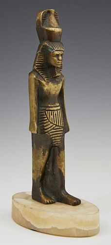 Bronze Egyptian Figure of the God Nefertum, early