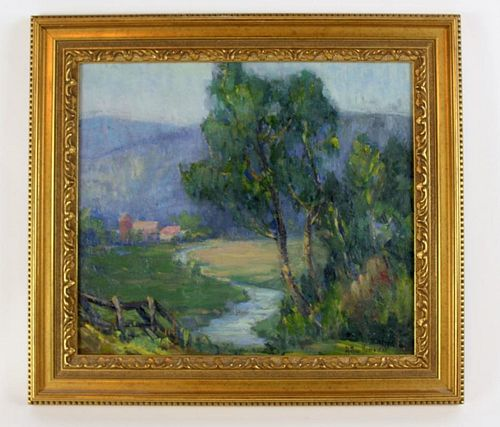 Arthur Kowalski  Impressionist style landscape