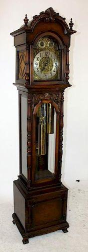 Geo. J. Lippert 9 tube grandmother clock