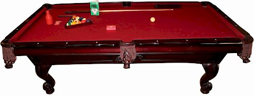 Gandy Pool Table In Mahogany By King Galleries Bidsquare - Gandy pool table