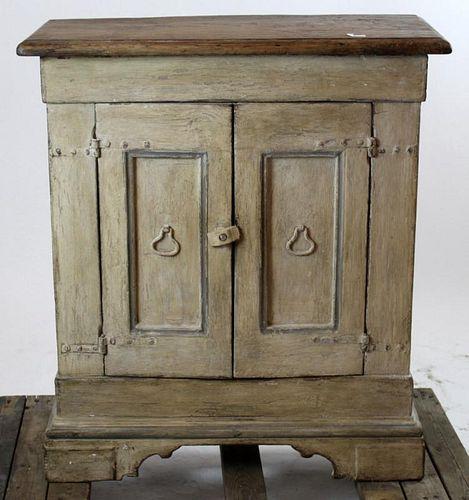 Italian 19th c painted cabinet