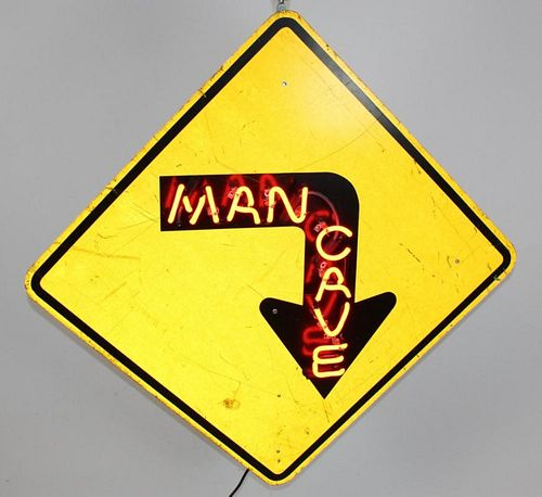 """Man Cave"" Custom made neon sign"