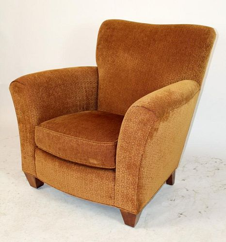 Stickley upholstered armchair