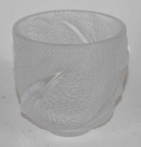 Lalique Andromeda vase