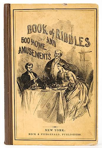 Book of Riddles and 500 Home Amusements