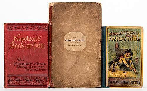 Trio of Antiquarian Fate and Fortune-Telling Books