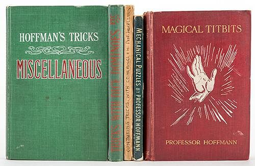 Lot of Five Vintage Magic Books