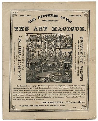 The Brothers Lubin, Professors of the Art of Magique