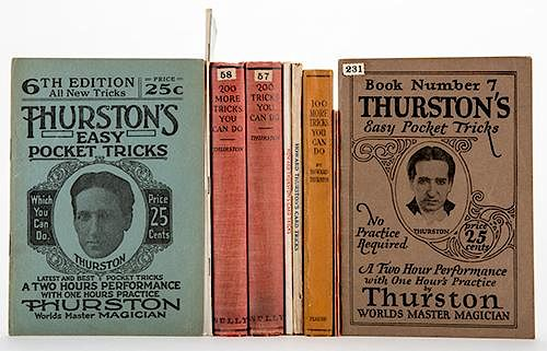 Group of Nine Vintage Magic Books and Booklets