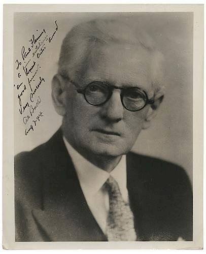 Inscribed and Signed Portrait of Magician Al Baker