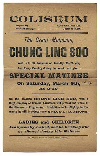 Chung Ling Soo Handbill